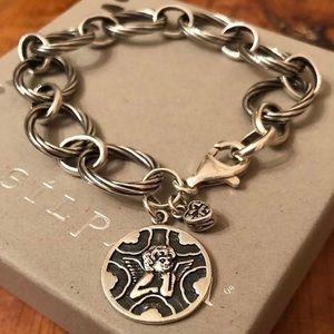 Silpada Sterling Silver Guardian Angel Bracelet